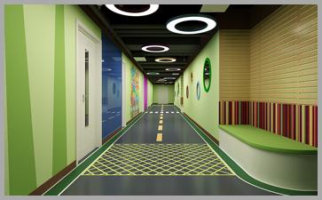 合理的建筑理念设计能充分利用幼儿园环境布置空间