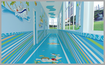 幼儿园环境布置要色彩亮丽自然且还要保障幼儿安全