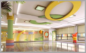 幼儿园装修的辅材也要绿色环保
