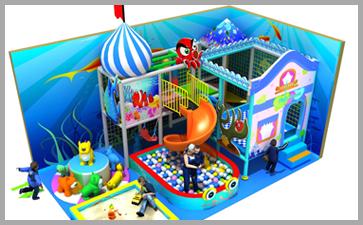 常见的室内儿童乐园类型符合儿童兴趣