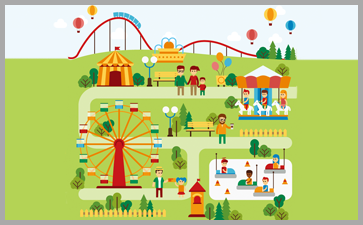 发展与强化是儿童乐园建设最基本特点