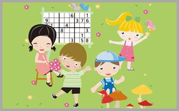儿童数学游戏能够开发孩子智力