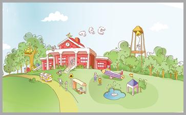 幼儿园环境布置的好能培养孩子的自主能力