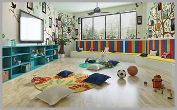 幼儿园环境布置的好能培养孩子的责任感