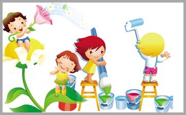 培养美感使儿童美术对生活的热情提高兴趣