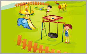 户外儿童游戏活动