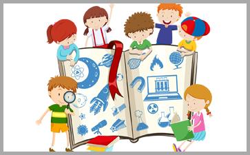 多图画图书形式的儿童绘本
